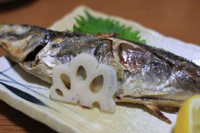 ニューおりんぴあの焼き魚