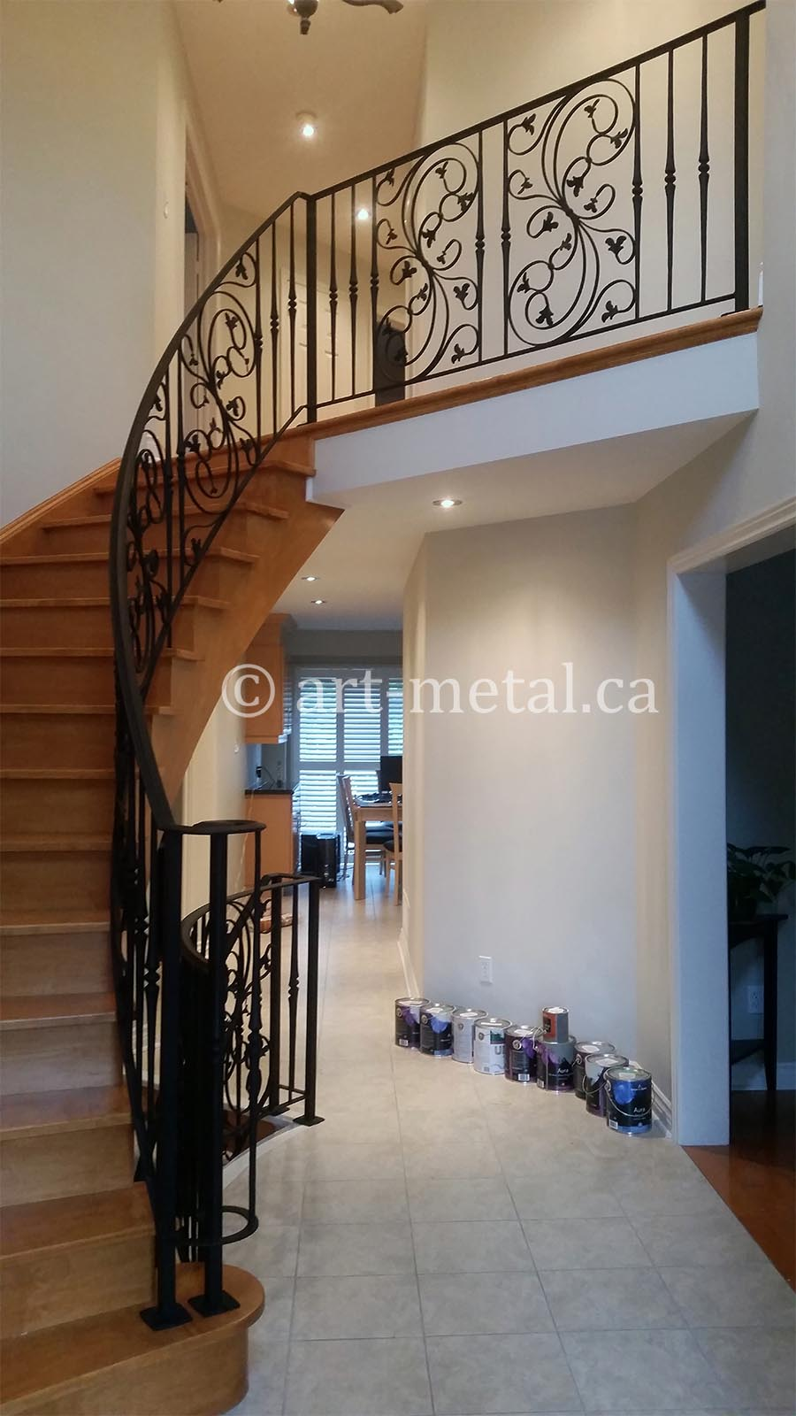 Metal Spindle Deck Railing