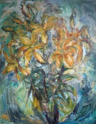 ArtMoiseeva.ru - Flowers - Golden flowers