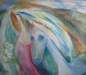 ArtMoiseeva.ru - Light - Woman and horse