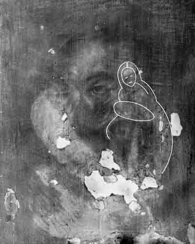 Рентген - Портреты эпохи Тюдоров с религиозным содержанием