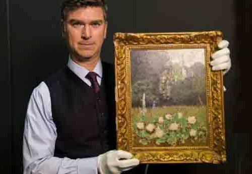 найдена картина Матисса