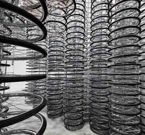 Stacked - велосипедная инсталляция, Ай Вэйвэй