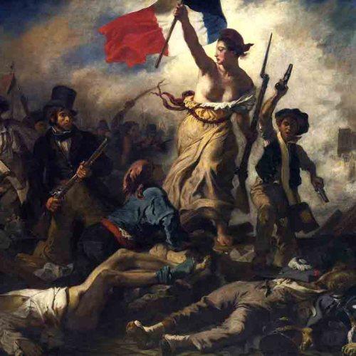 Полотно Делакруа «Свобода ведущая народ», или «Свобода на баррикадах»,