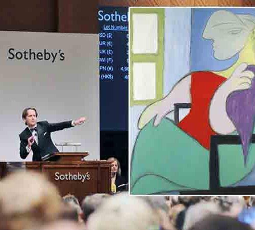полотно Пикассо «Женщина, сидящая у окна»