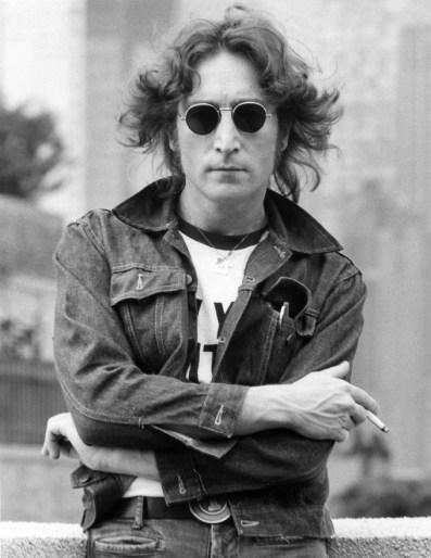 Джон Леннон, Нью-Йорк, 1974. Фото Боба Груена