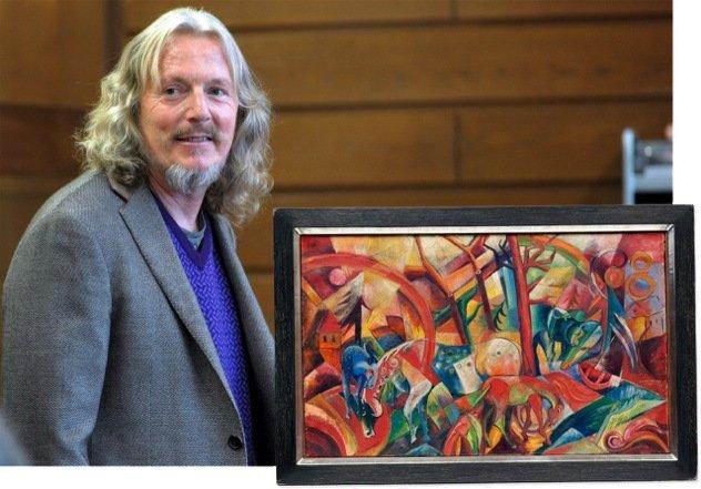 Из тюрьмы вышел скандальный мастер поддельных картин