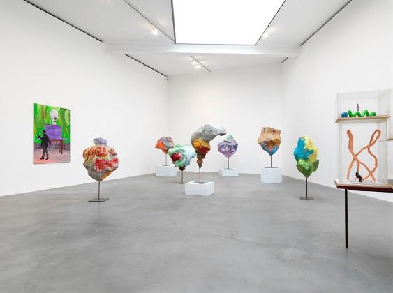 Работы Франца Веста в галерее Гагосяна