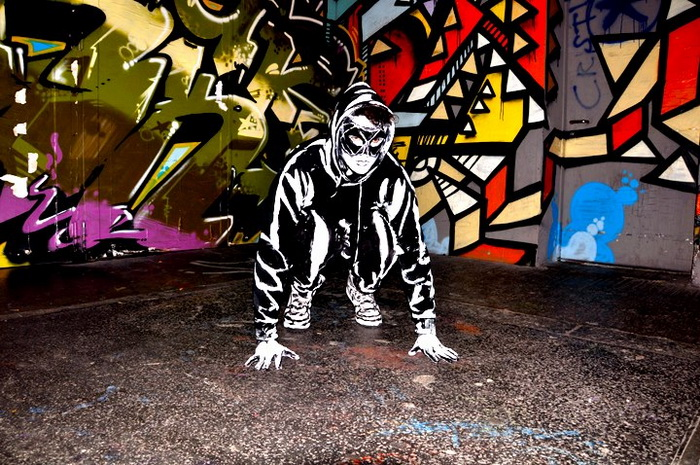 Герои, сошедшие с граффити от художницы Алексы Мид-2