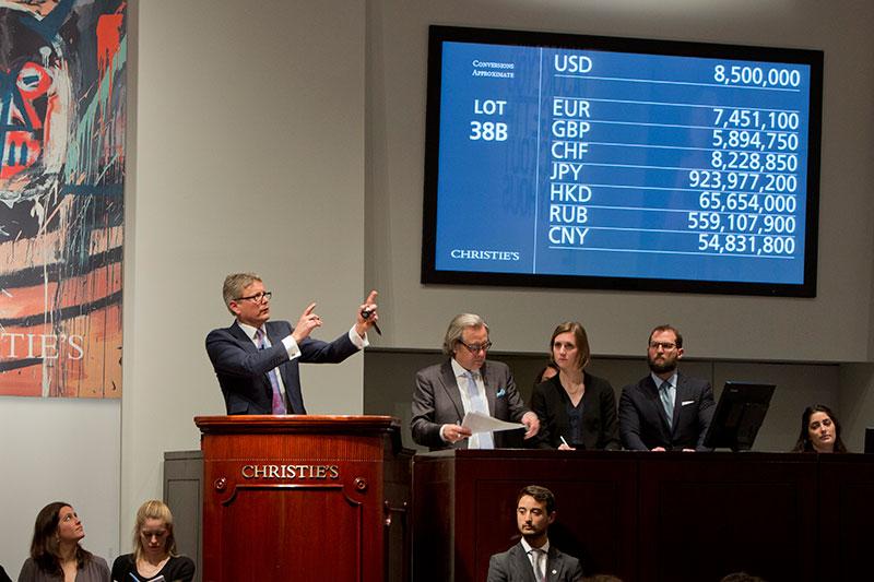 После большого провала продажи Christie's снова начали расти