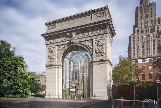Ай Вэйвэй строит «заборы» в Нью-Йорке