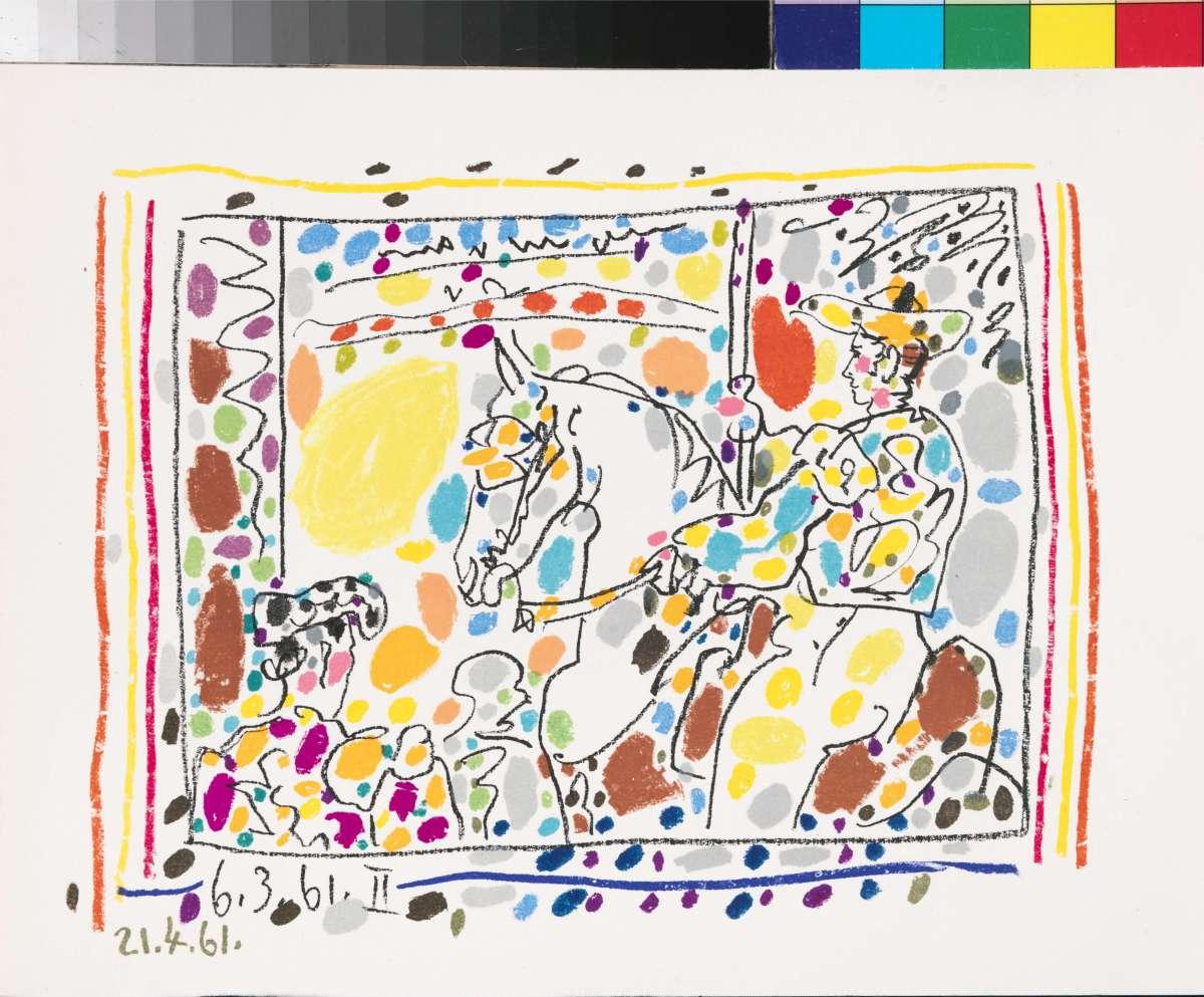 """Пабло Пикассо """"Страсть. Кровь. Вино. Женщина"""""""