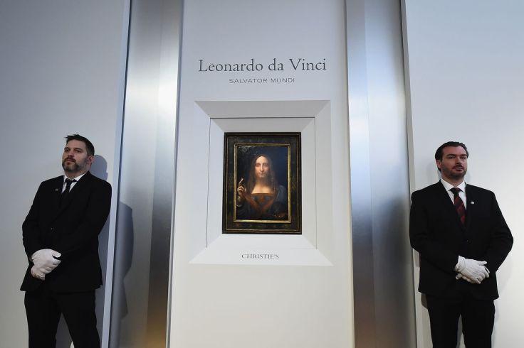 Леонардо да Винчи «Спаситель мира». Источник: Getty Images
