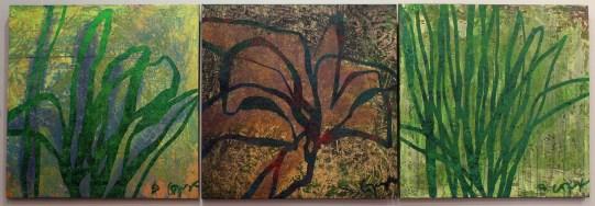 флора-триптих-90х90х3шт