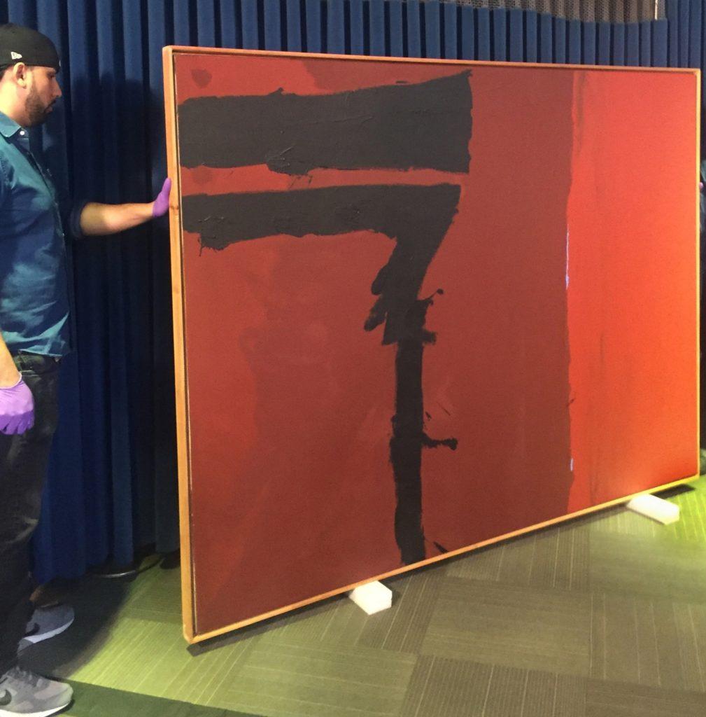 Найдена картина Роберта Мазервелла, похищенная 40 лет назад