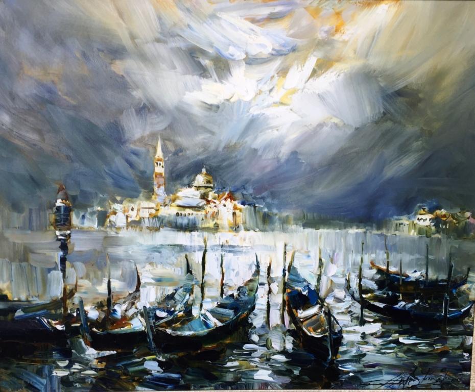 Персональна виставка Андрія Фіголя. Живопис з приватної колекції