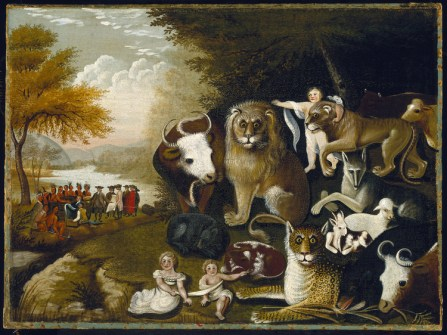 A Peaceable Kingdom by Edward Hicks