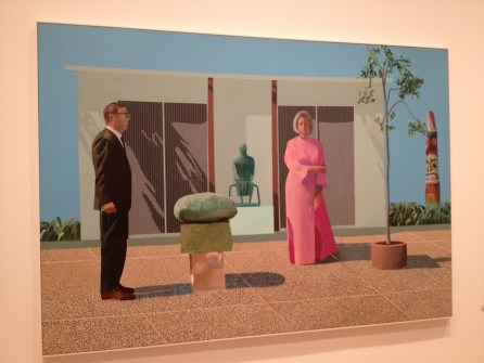 American Collectors by David Hockney