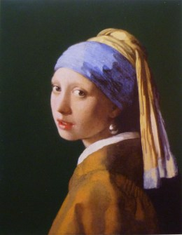 Girl with a Pearl Earring by Vermeer van Delft