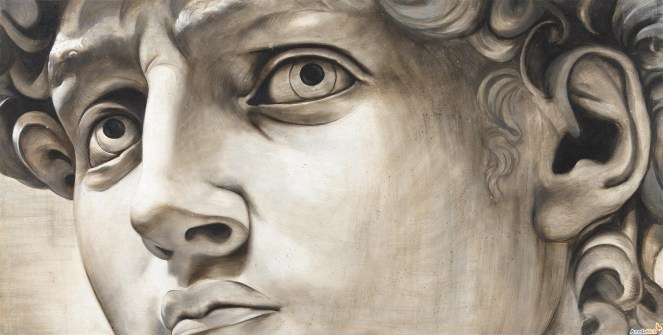 Michelangelo`s David by Unknown