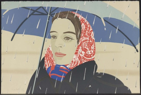 Portait 3 by Alex Katz
