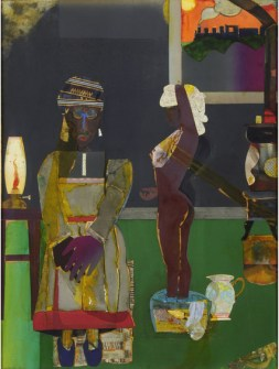Prelude to Farewell by Romare Bearden