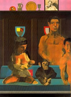 Tarzan and his Family at the Roxy Cinema by Peter Blake