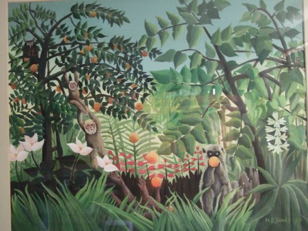 early-painting-aged-18-jungle-painting-after-henri-rousseau