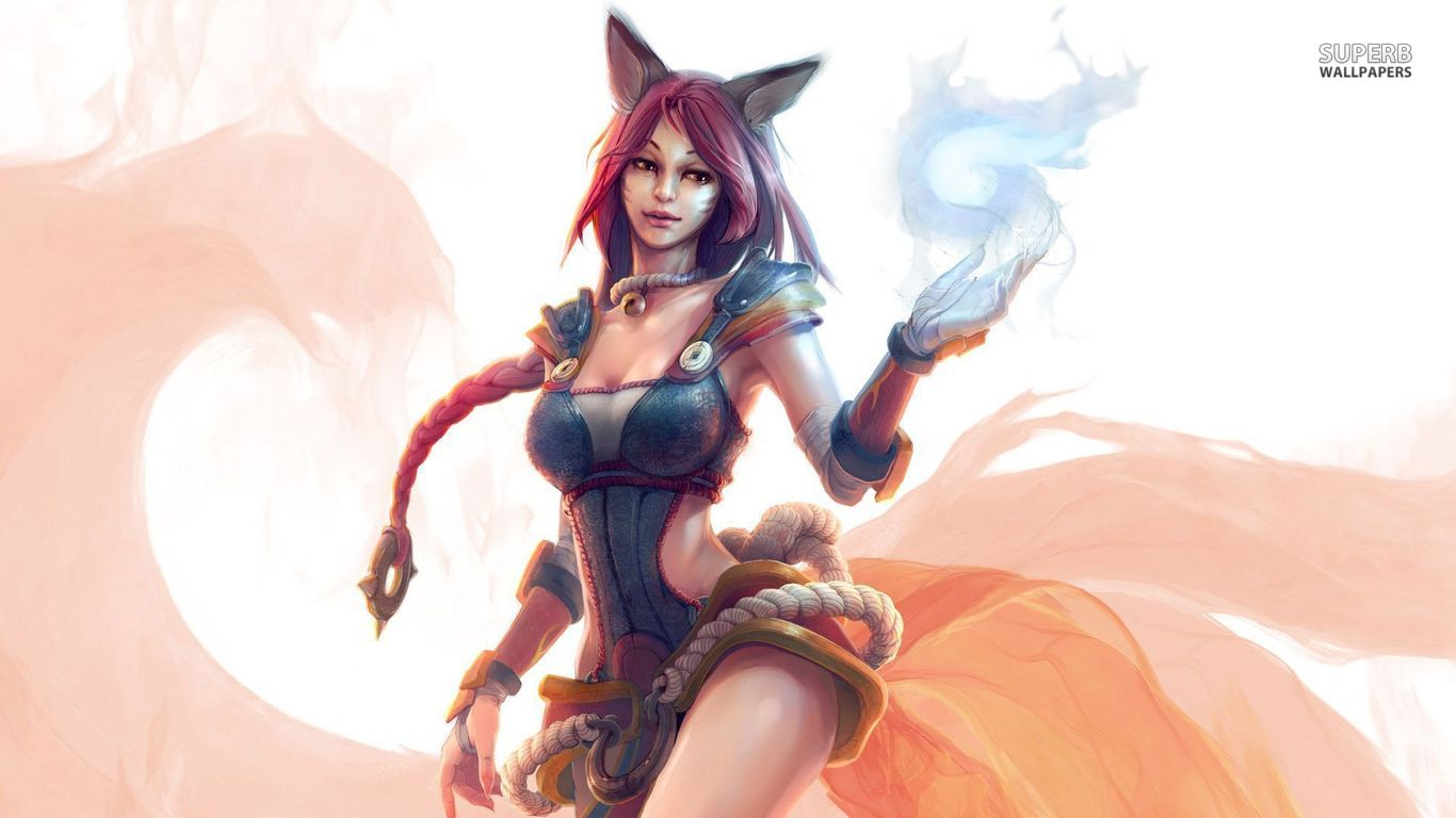 Ahri League Of Legends Fan Art Art Of LoL