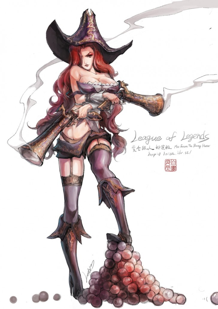 Miss Fortune League Of Legends Fan Art Art Of LoL