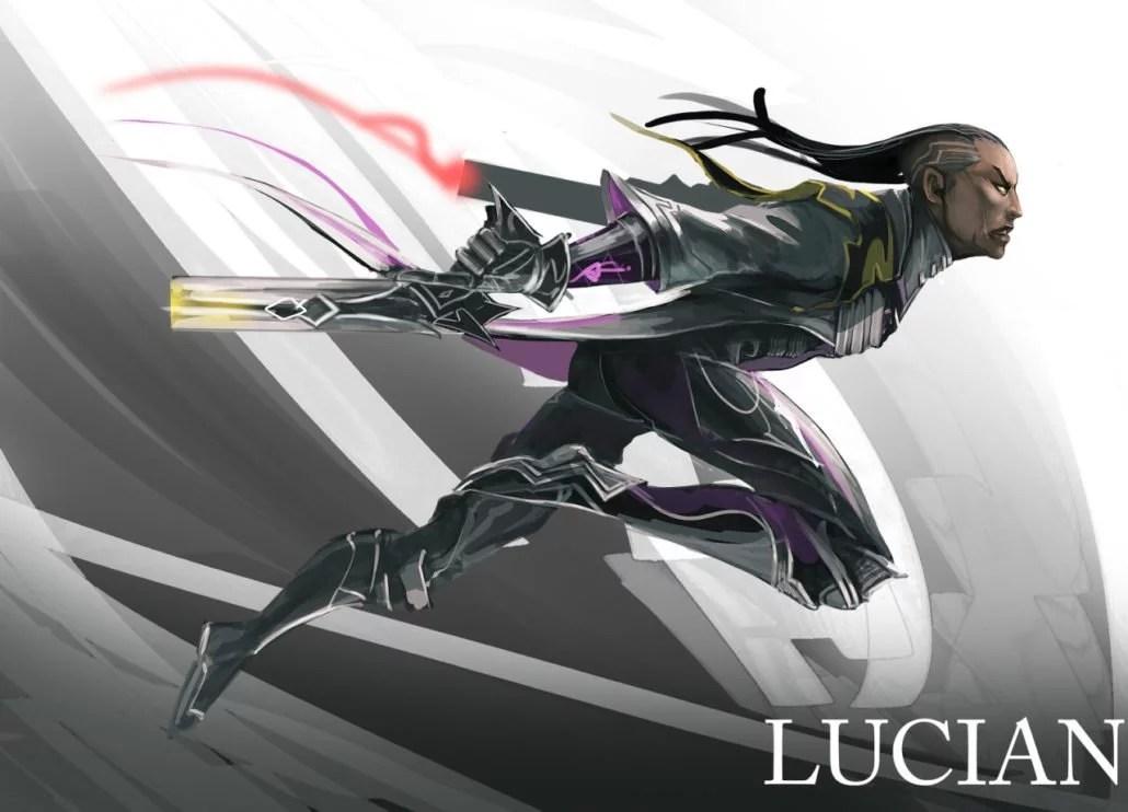 Lucian League Of Legends Fan Art Art Of LoL