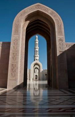 La Grande Moschea di Muscat voluta dal Sultano Qaboos Bin