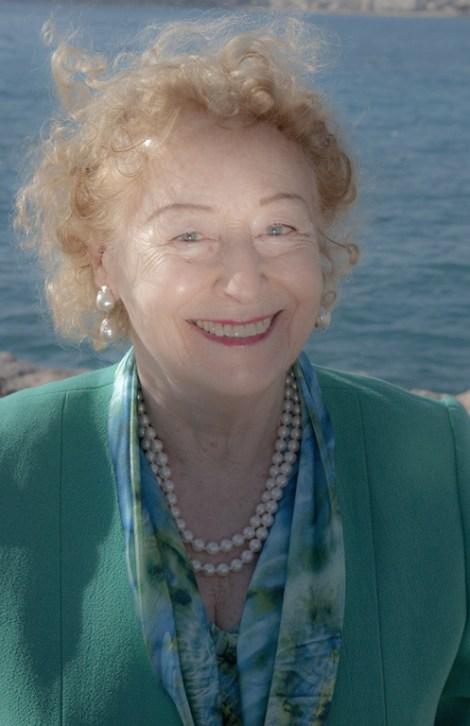 La Principessa Elettra Marconi figlia di Guglielmo Marconi 2012