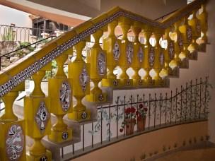 Byblos, la scala in ceramica con disegni da Picasso