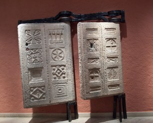 Due antiche porte del Libano