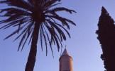 Minareto della moschea di Hala Sultan Tekkesi, del 648