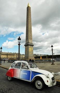Place de la Concorde con l'obelisco egizio