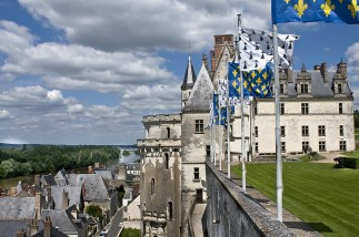Il Castello reale di Amboise e la Loira
