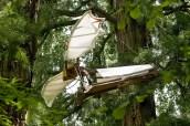 Prototipo di macchina volante di Leonardo
