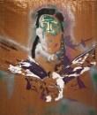 Indianen mit Adler