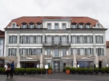 Hotel Angleterre dove soggiornò Lord Byron tra il 1815-25