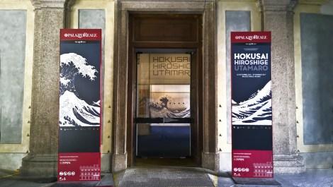 Ingresso alla mostra a Palazzo Reale, Milano