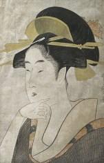 Utamaro, Ritratto di beltà