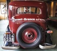 Auto d'epoca della collezione museale Branca