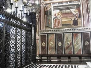 Cappella della Cintola Duomo di Prato affreschi di Agnolo Gaddi