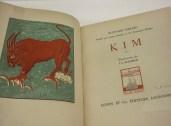 Libro illustrato di Kipling