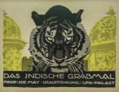 Manifesto con tigre