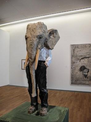 Stephan Balkenhol, Elefantenmann