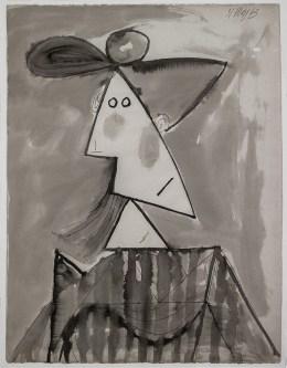 Donna con cappello, 1943