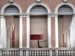 Palazzo Grassi, vista su una sala dall'interno del palazzo